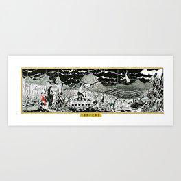 INFERNO - HELL Art Print