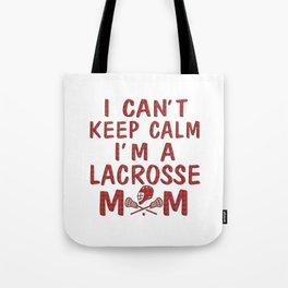 I'M A LACROSSE MOM Tote Bag