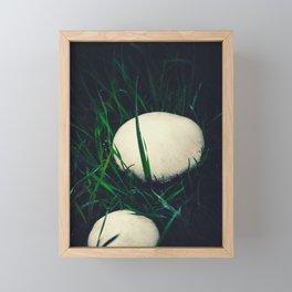 Wild champignons Framed Mini Art Print