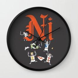 Ni! Wall Clock