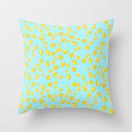 Lemons citrons Throw Pillow