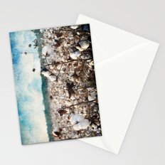 Blue skies and open fields Stationery Cards