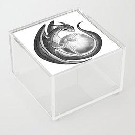 Scrying Dragon Acrylic Box