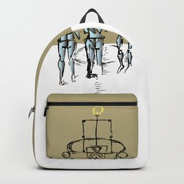Glass people Backpack