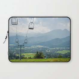 Mountain Cableway Laptop Sleeve