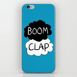 Boom Clap (the sound of my heart - TFIOS) iPhone Skin