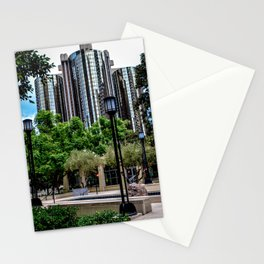 Maguire Garden Towers (color) Stationery Cards