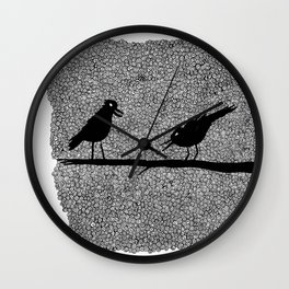 Two Crows, scan  Wall Clock