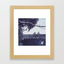 Pearls of Kyoto #3 Framed Art Print