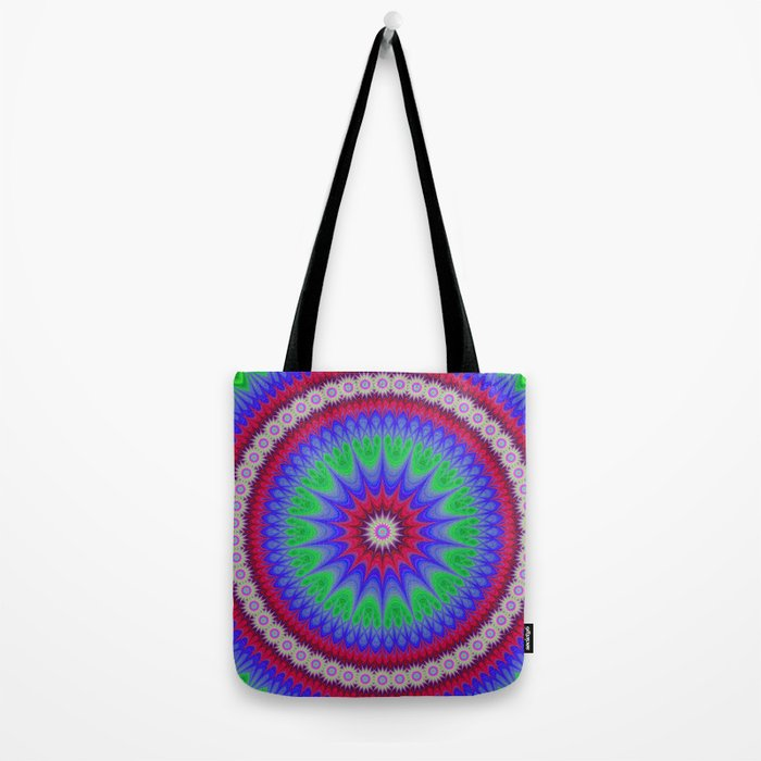 Happy mandala Tote Bag