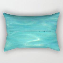 Fish Swimming in the Ocean Rectangular Pillow