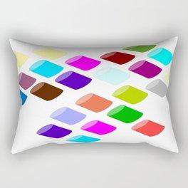 Tube seven   (A7 B0020) Rectangular Pillow