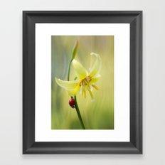 Lily lady Framed Art Print