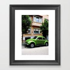 Volkswagon.  Framed Art Print