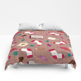 A Cozy Winter's Night Comforters