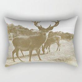 Deer Family Rectangular Pillow