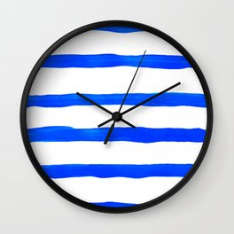 Brush #eclecticart Wall Clock