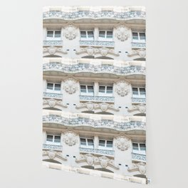 Parisian Architecture Splendor Wallpaper