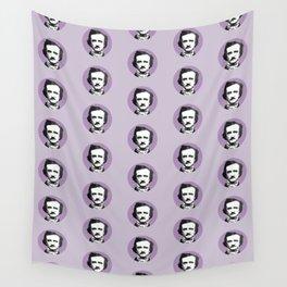Edgar Allan Poe-ka Dots Wall Tapestry