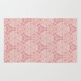 Millennial Pink Chenille Pattern Rug
