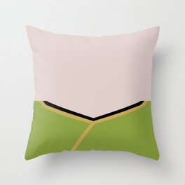 James T Kirk - Minimalist Star Trek TOS The Original Series -  James Jim - startrek - Trektangles Throw Pillow