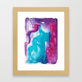 Intuitive - Karla Leigh Wood Framed Art Print