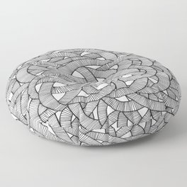 Macro Knit  Floor Pillow
