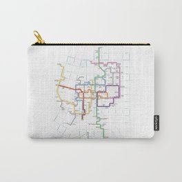 Minneapolis Skyway Map Carry-All Pouch