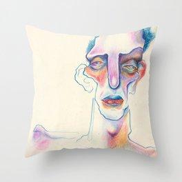 Mqe Throw Pillow
