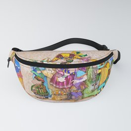 Following The Blind Fanny Pack