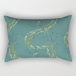 Salmon Migration Rectangular Pillow