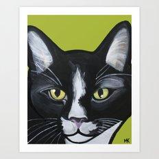 Laser the Cat Art Print