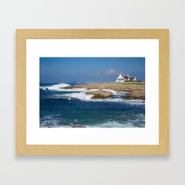 South Bretagne Framed Art Print
