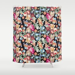 A night in fairyland Shower Curtain