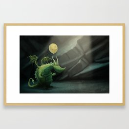 Grint's Golden Hoard Framed Art Print