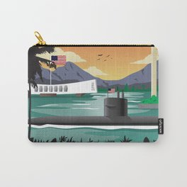 Pearl Harbor, HI - Submarine Homeport Carry-All Pouch