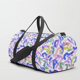 Brushstroke Party Wild & Free Duffle Bag