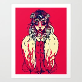 Blood of Witchity Art Print