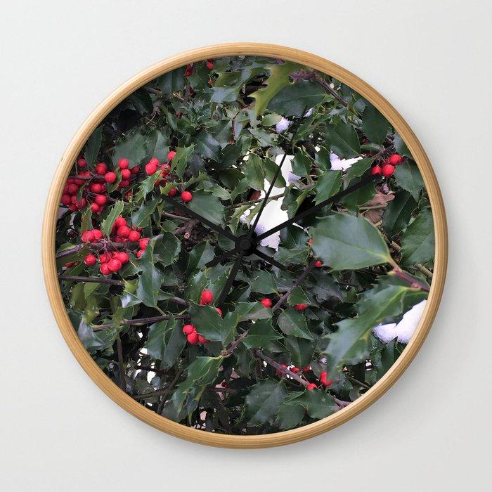From a Winter's Walk Wall Clock