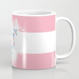 Trans Flag Symbol Coffee Mug