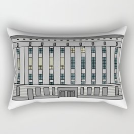 Berghain. Techno Club in Berlin Rectangular Pillow