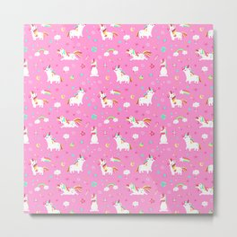Unicorns Metal Print