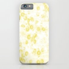 Vintage Yellow Daisies All Over iPhone 6s Slim Case