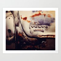 sport Art Prints featuring Volvo Sport by Anna Dykema Photography