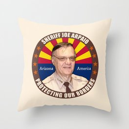 Sheriff Joe Arpaio Throw Pillow