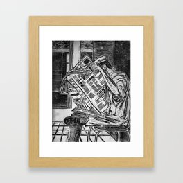 Breaktime Framed Art Print