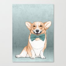 Corgi Dog Canvas Print