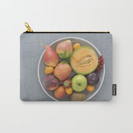 Fruits on a plate Carry-All Pouch