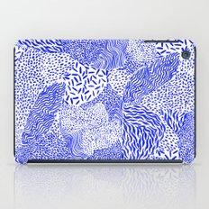 Blue sand iPad Case
