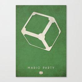 Mario Party - Nintendo 64 Minimalist Canvas Print